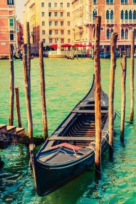 Adesivo Famoso Venezia Gondola