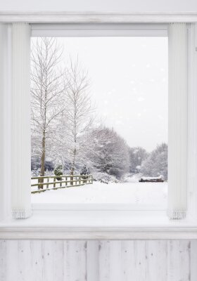Adesivo finestra invernale