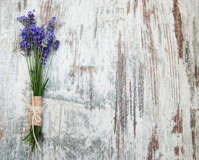 Adesivo fiori di lavanda