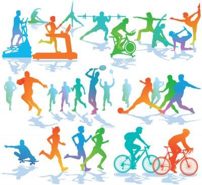 Adesivo Fitness e Sport