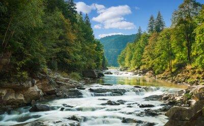 Adesivo fiume di montagna