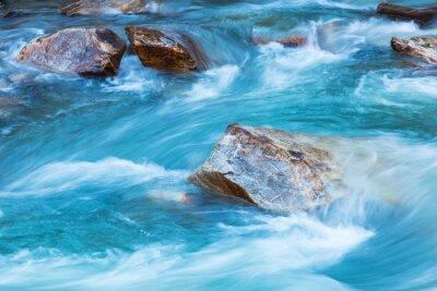 Adesivo Fiume Glacier