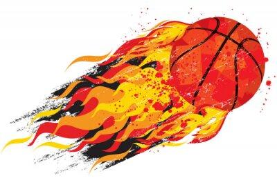 Adesivo Flaming basket