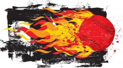 Adesivo Flaming Red Fastball