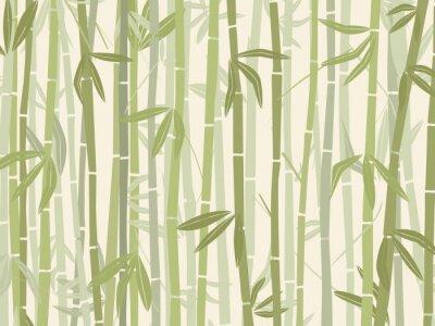 Adesivo Foresta di bambù
