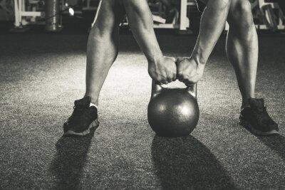 Adesivo formazione kettlebell CrossFit