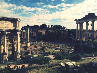 Adesivo Foro Romano, Roma