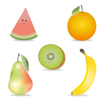 Adesivo Fruit Collection