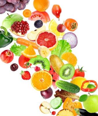 Adesivo Frutta e verdura