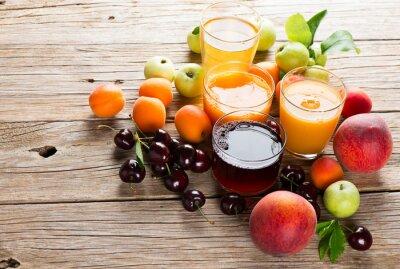 Adesivo Frutta fresca succhi di frutta