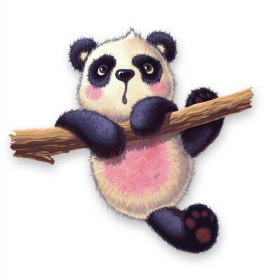 Adesivo furry panda