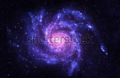 Adesivo Galassia a spirale - Elementi di questa immagine ammobiliati dalla NASA