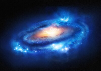 Adesivo Galaxy Super Massive