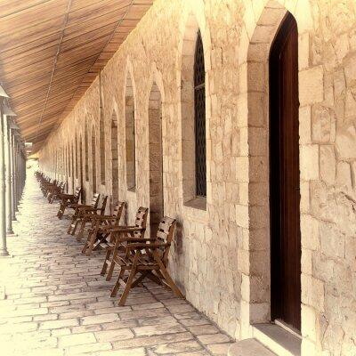 Adesivo Galleria a Gerusalemme