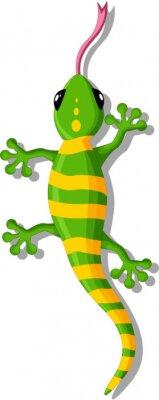 Adesivo Gecko del fumetto per la progettazione