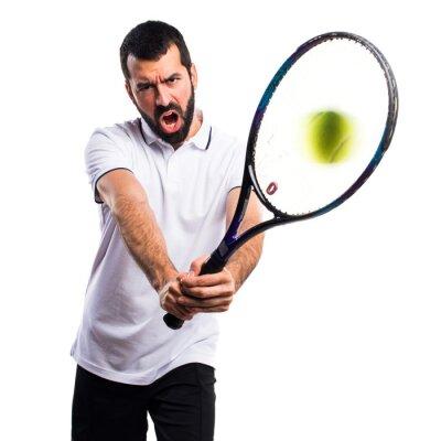 Adesivo Giocatore di tennis