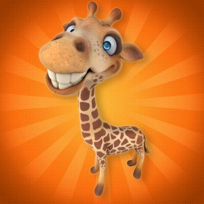 Adesivo giraffe Fun