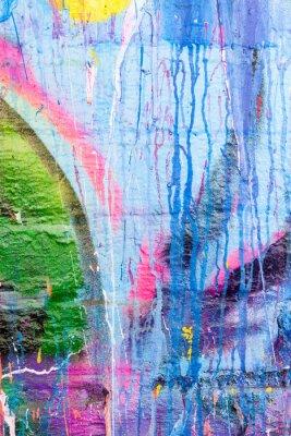 Adesivo Gocce di vernice muro di graffiti