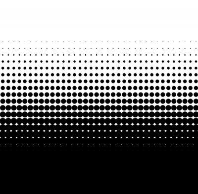 Adesivo Gradiente punti neri