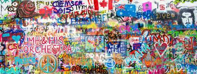 Adesivo Graffiti Panorama