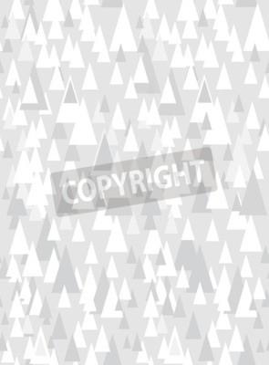 Adesivo Grafico senza saldatura grigio con triangoli decorativi e spazio di copia