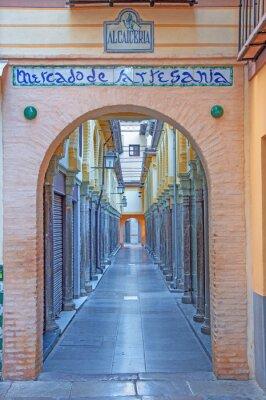 Adesivo Granada - Il mercato Alcaiceria in mattina
