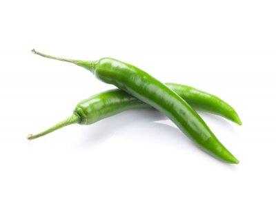 Adesivo Green chili peppers