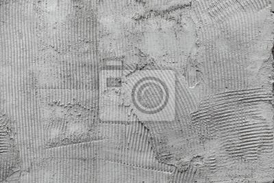 Grigio colla superficie della parete in gesso pettine for Autoadesivi per piastrelle