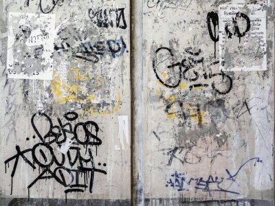 Adesivo Grunge Texture Wall Background a Bangkok