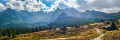 Adesivo Hala Gasienicowa in Monti Tatra - panorama
