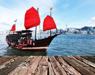 Adesivo Hong Kong Harbour