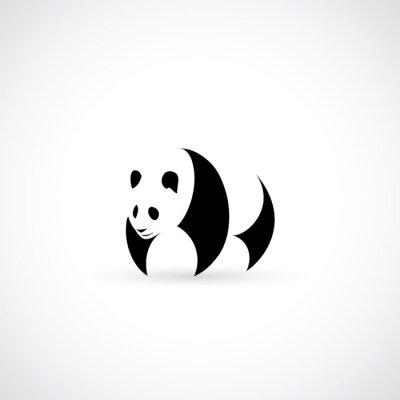 Adesivo icona di Panda