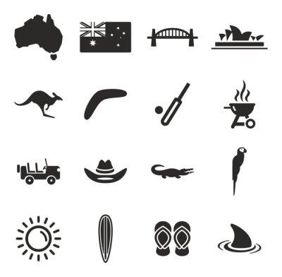 Adesivo Icone Australia