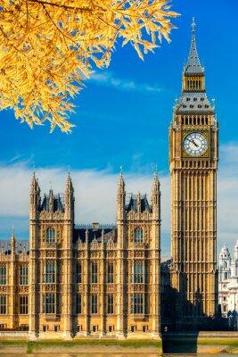 Adesivo Il Big Ben e la Casa del Parlamento, Londra, Regno Unito.