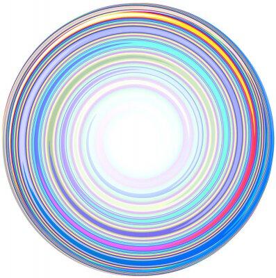 Adesivo illustrazione di astratto Mandala