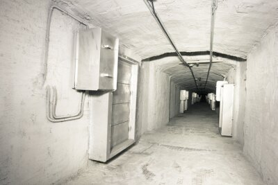 Adesivo industriale interni del tunnel sistema vantilation