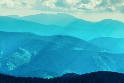 Adesivo Intervallo di montagna in estate