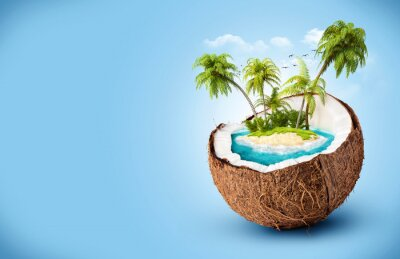 Adesivo isola tropicale