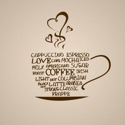 Adesivo Isolato icona della tazza di caffè
