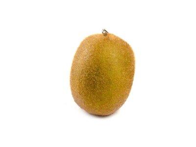 Adesivo Kiwi frutta isolato su sfondo bianco