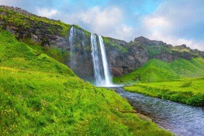 Adesivo L'acqua scorre attraverso flusso rapido