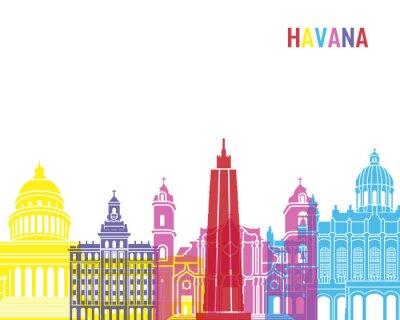Adesivo L'Avana orizzonte pop