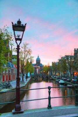 Adesivo La Basilica di San Nicola a Amsterdam