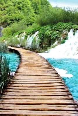 Adesivo Lago di Plitvice corsa magica, Croazia