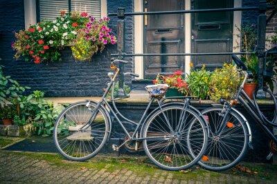 Adesivo Le biciclette di Amsterdam
