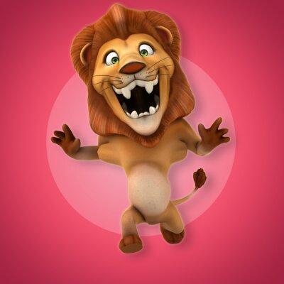 Adesivo leone Fun