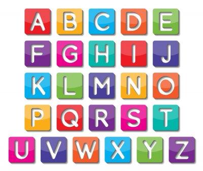 Adesivo lettere maiuscole carta