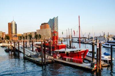 Adesivo Lightship e Hafencity