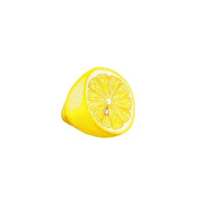 Adesivo limone arte