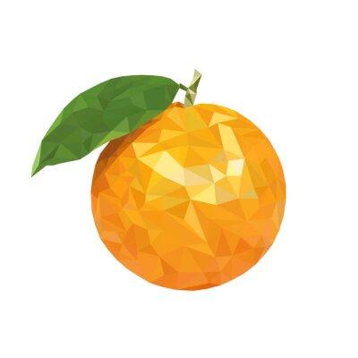Adesivo Low arancio poli